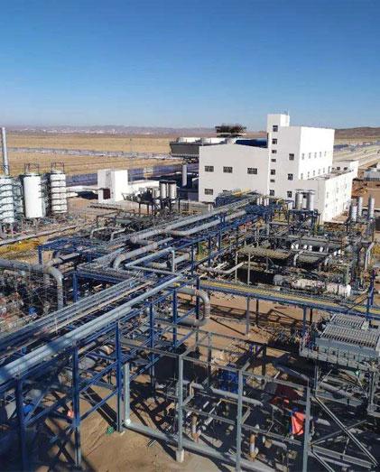 EPC CSSC-中国最大的100 MW抛物槽CSP项目